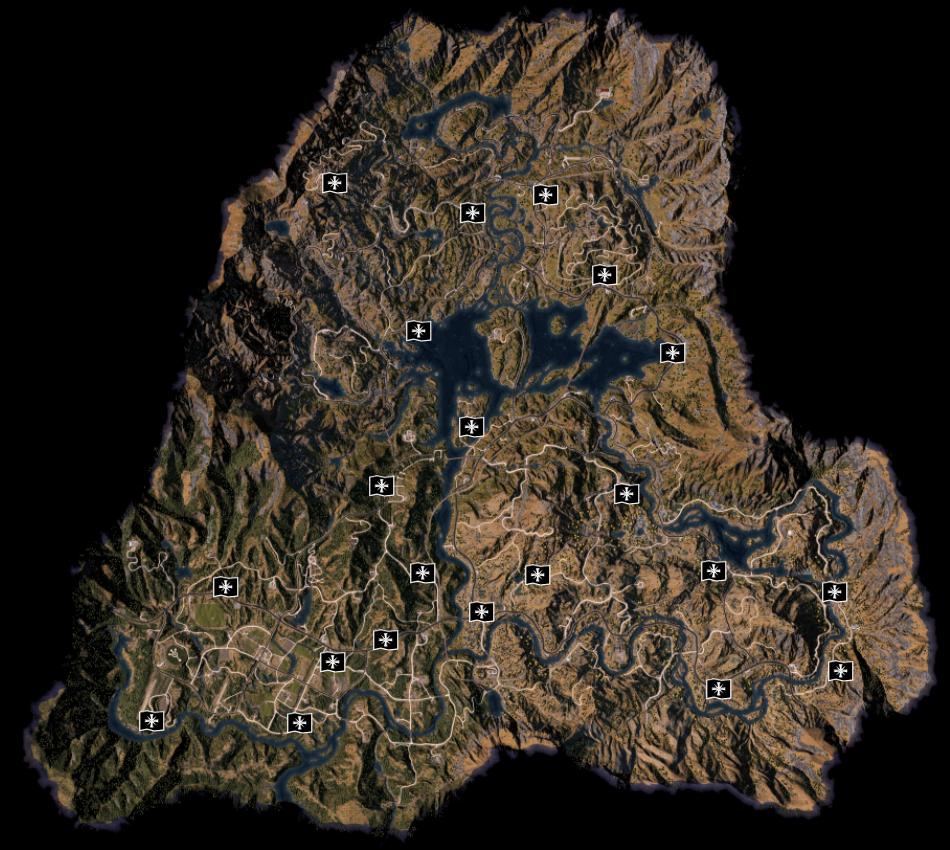 Far Cry 5 Schreine Zerstören Karte.Trophäen Leitfaden Far Cry 5 Far Cry 5 Trophies De Ps4 Ps3