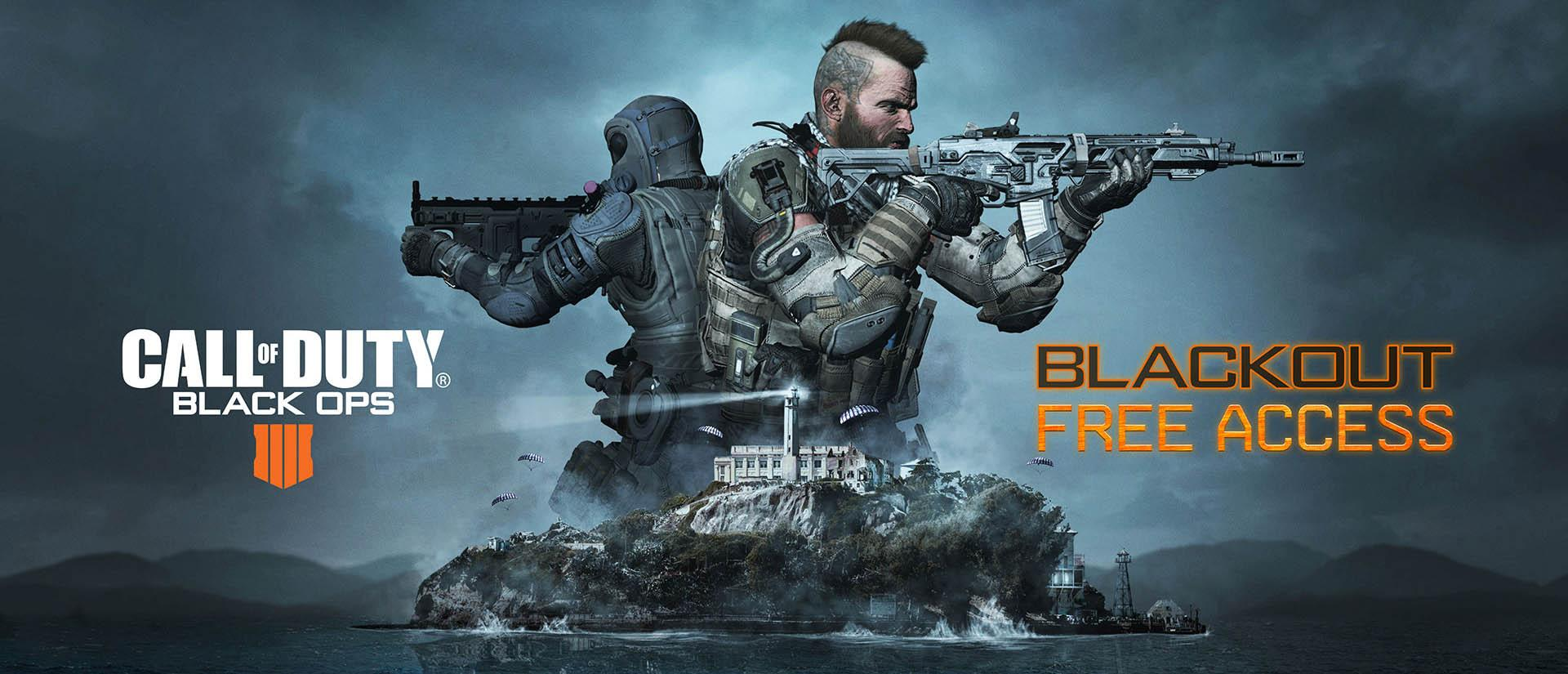 Call of Duty: Black Ops 4: Blackout Modus und neue Alcatraz Map sind einen Monat lang gratis spielbar