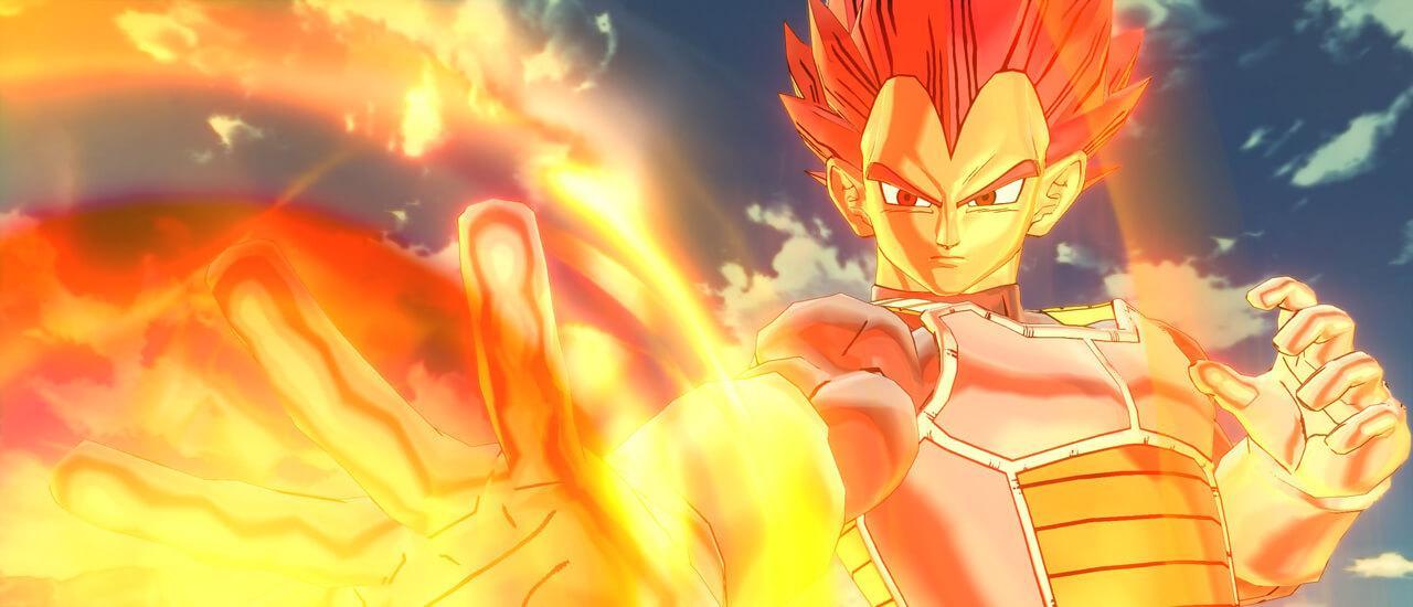 Dragon Ball Xenoverse 2 - Vegeta ( Super Saiyajin Gott ) als nächster DLC-Kämpfer angekündigt