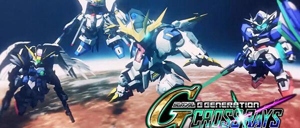 SD Gundam G Generation Cross Rays erscheint am 28. November in Asien mit englischen Texten
